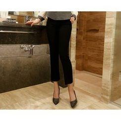 Marlangrouge - Flat-Front Dress Pants