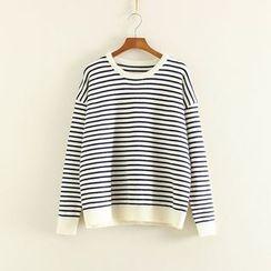 Mushi - Striped Sweater