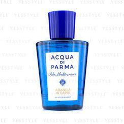Acqua Di Parma - 蓝地中海卡普里香橙 舒缓沐浴啫喱