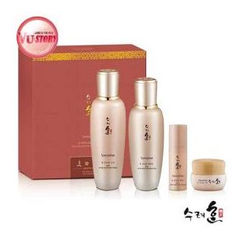 Sooryehan - Bon Extra Moisture Special Set: Toner 160ml + Emulsion 130ml + Essence 10ml + Cream 10ml