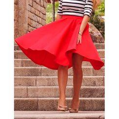 Saranghae - A-line Midi Skirt