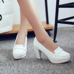 JY Shoes - Loafer Pumps
