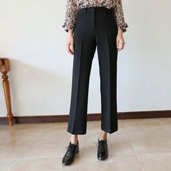 Hello sweety - Straight-Cut Dress Pants