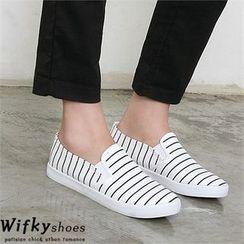 Wifky - Stripe Slip-Ons