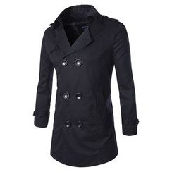 Fireon - Double Breasted Trench Coat