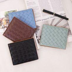 MR.BLUE - Woven Wallet