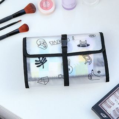OH.LEELY - Printed Transparent Hanging Toiletry Bag