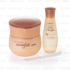 Etude House - Moistfull Collagen Cream Set: Cream 60ml + Essence 20ml