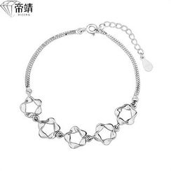 DIJING - Sterling Silver Segment Necklace
