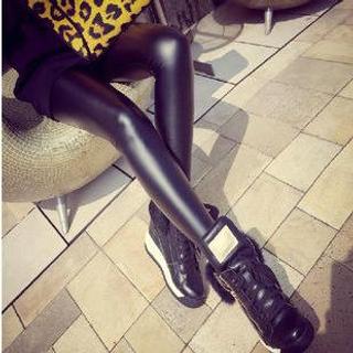 Hyoty - Faux Leather Leggings