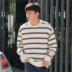 Superstar.i - Colored Striped Sweatshirt