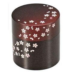Hakoya - Hakoya Tea Caddy Akane Sakura Aka