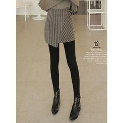 BBAEBBAE - Striped Wrap Skirt