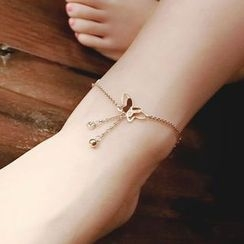 Ticoo - Butterfly Anklet