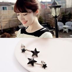 Best Jewellery - Star Ear Jacket / Clip-On Earrings