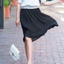 Princess Home - Chiffon Midi Skirt
