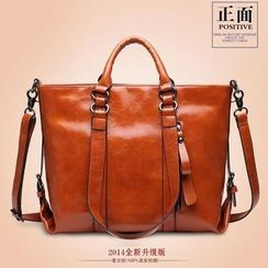 LineShow - Square Tote with Strap