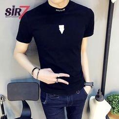 SIRIUS - 小高領短袖T恤