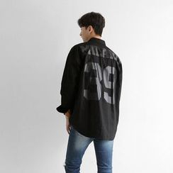 Seoul Homme - Printed Loose-Fit Shirt