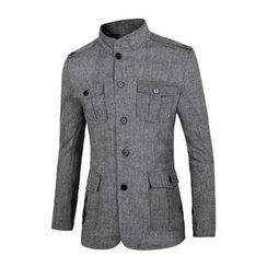 Blueforce - Stand Collar Button Jacket