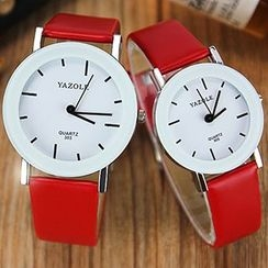 YAZOLE - Couple Matching Strap Watch