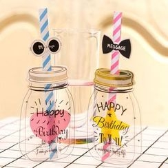 Homey House - Bottle Greeting Card