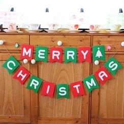 OH.LEELY - 聖誕掛旗