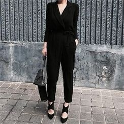 LIPHOP - Flap-Front Jumpsuit
