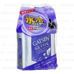 Mandom - Gatsby Ice-Type Deodorant Body Paper (Ice Fruity)