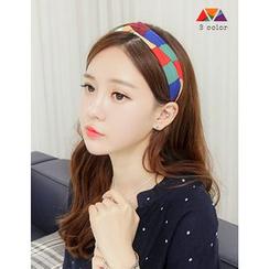 soo n soo - Color-Block Hair Band