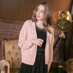 Tokyo Fashion - Long-Sleeve Knit Cardigan