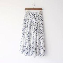 Bonbon - Floral Long Skirt