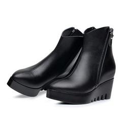 Hannah - 真皮內增高短靴