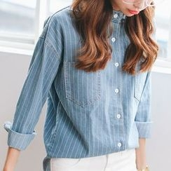 EFO - Striped Denim Shirt