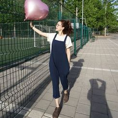 Eva Fashion - 哈倫背帶長褲