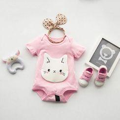MOM Kiss - Baby Animal Bodysuit