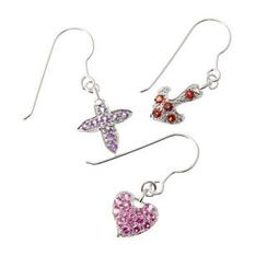 Bellini - Faith, Hope, Love Earrings