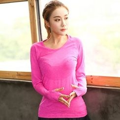PUDDIN - Sports Long-Sleeve Top