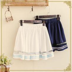 Fairyland - Pleated A-line Skirt
