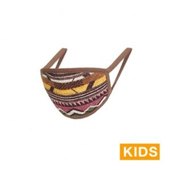 iswas - 'Nordic Island' Series Organic Patterned Kids Mask
