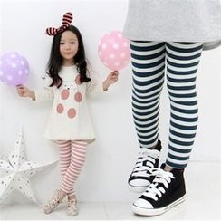 nanakids - Girls Striped Leggings