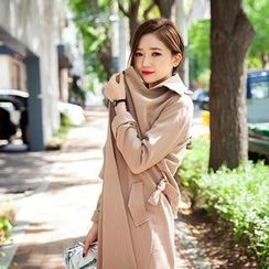 chuu - Flap-Front Trench Coat