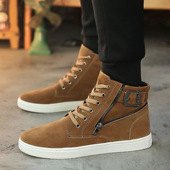 Vida Rooney - 扣带高帮休闲鞋