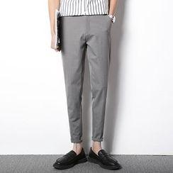 Pinth - Plain Tapered Pants