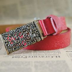 Yist! - Embossed Genuine Leather Belt