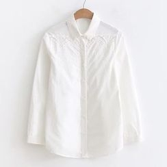 HANIA - Lace Embroidered Shirt
