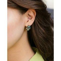 FROMBEGINNING - Elliptical-Shape Earrings