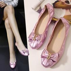 Banaba - 蝴蝶结平底鞋