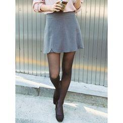 LOLOten - Zip-Side Flap-Front Shorts