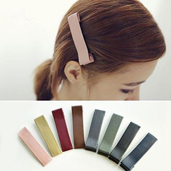Azalea - Faux Leather Hair Clip
